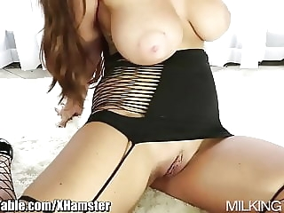 Milking Table Best of Cum in Mouth Compilation blowjob brunette