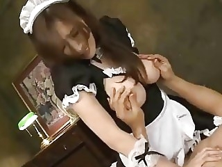 Julia Boin - Tits Slave Super Premium Boobs Maid [PPPD-445] julia boin