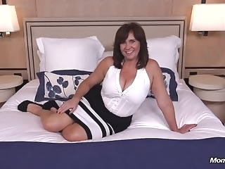 Thick busty Cougar MILF loves young cock milf old & young