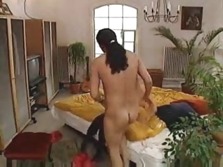 German Classic daughter's friend Caught The Mother With Her Boyfriend anal cumshot