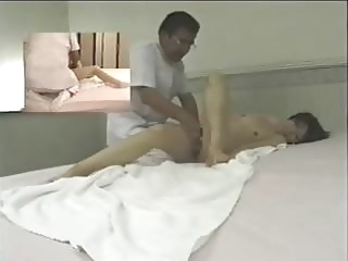 Japanese massage room - hidden cam asian hidden camera