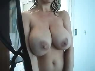 Watching Mommy in the Shower mature milf