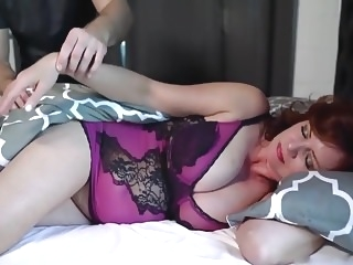 Early morning Fun with Stepmum mature milf
