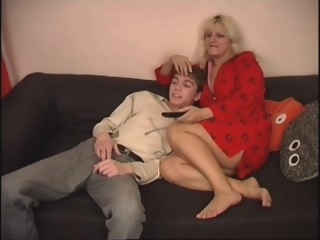 Russian mom and not her son big tits russian