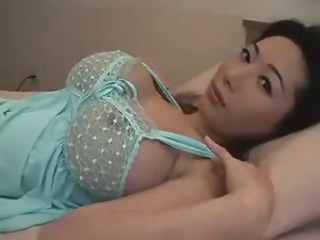 Japanese MILF with huge tits big tits straight