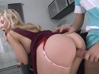 Ashley Fires Fucked hardcore And Swallows A Load! anal straight