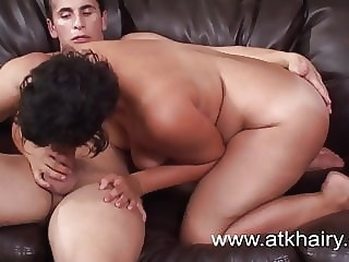 Hairy armpit cum amateur hairy