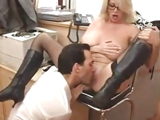 Big Titted Mom with her Boss...F70 hardcore mature