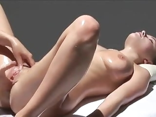 MULTI ORGASMIC Erotic Massage With Oil lesbian massage