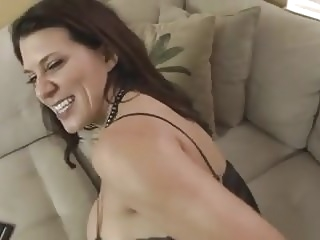 Mom Catches not Son Jerking and Fucks Him WF blowjob close-up