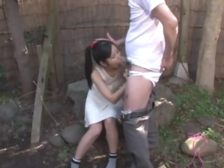 Japanese Teen with Old Man and Many Guy Bukkake asian japanese