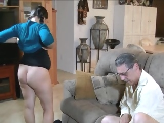pregnant - It's For The Baby Grandpa babe blowjob