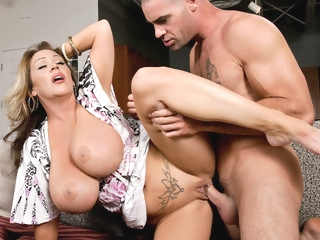 Kandi Cox & Charles Dera in My Friends Hot Mom big tits facial