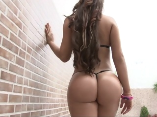Insane Colombian Ass! brunette big ass