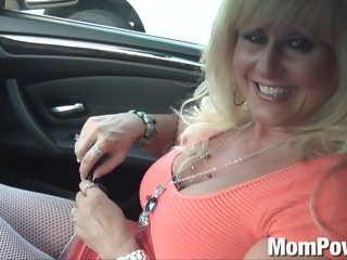 Cougar MILF gets anal anal blond
